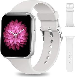 NAIXUES Smartwatch, Reloj Inteligente IP68 para Mujer Hombre, Reloj Deportivo con Monitor de Sueño Pulsómetro Podómetro No...