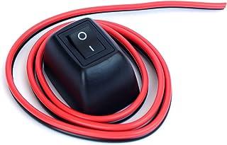 Ytian Auto DIY Schalter Paste Typ Knopf Schalter OFF/ON DC 12V/24V Für Nebelscheinwerfer, DRL, LED Lichtleiste, etc.