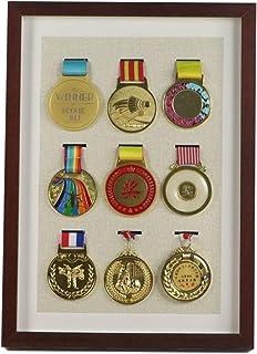 ZZPP Marathon Medaille Display Frame Muur Opknoping Honor Gouden Medaille Zilveren Medaille Badge Creatieve Fotolijst Opbe...