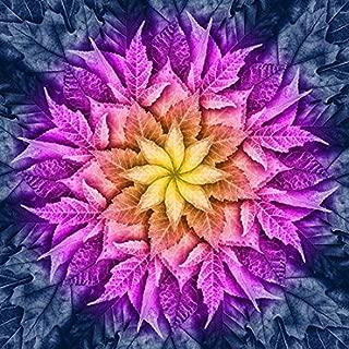 Dream Big Leaf - Paradise - Digital Panel -Large Floral -by Hoffman Fabrics