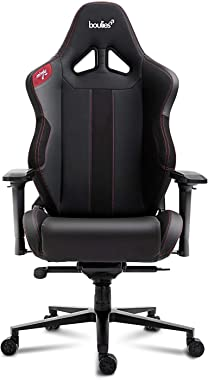 boulies Ninja Pro Gaming Chair Office Chair Multi-Function Racing Chair Adjustable Ergonomic Computer Desk Chair with 4D Armr