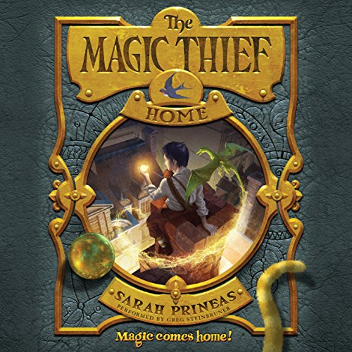 The Magic Thief: Home audiobook cover art