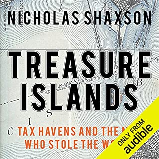 Treasure Islands audiobook cover art