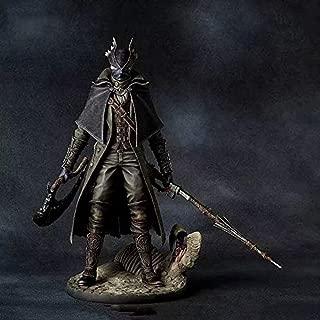 LLJJ Anime Jouet Anime Statue Modèle Bloodborne Gecco Hunter BIoodbornel Vieux Hunter Statue Main Modèle Ornements Anime modèle