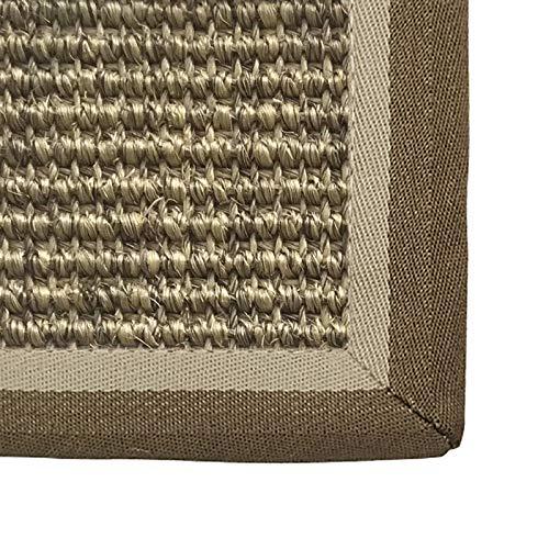 WHAOYEROK Alfombra Seagrass Trenzado Antideslizante Fácil de Limpiar colchón de Tatami para Entrada Oficina Interior Entrada Estera Japonesa, Personalizable (Color : A, Size : 60x90cm)