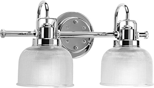 lowest Progress Lighting P2991-15 Med Bath Bracket, popular 2-100-watt,Polished outlet sale Chrome sale