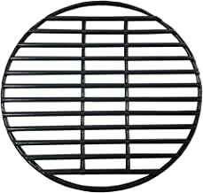 KAMaster 10 Inch Round Cooking Grate Porcelain Coated Steel Wire Charcoal Cooking Grid Grate BBQ Smokey Grill Grates Replacement for Grill Dome Mini Big Green Egg Barbecue Ceramic Grill and Smoker