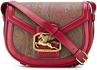 Etro Moda De Lujo Mujer 1I3528273300 Rojo Algodon Bolso De Hombro | Otoño-invierno 20