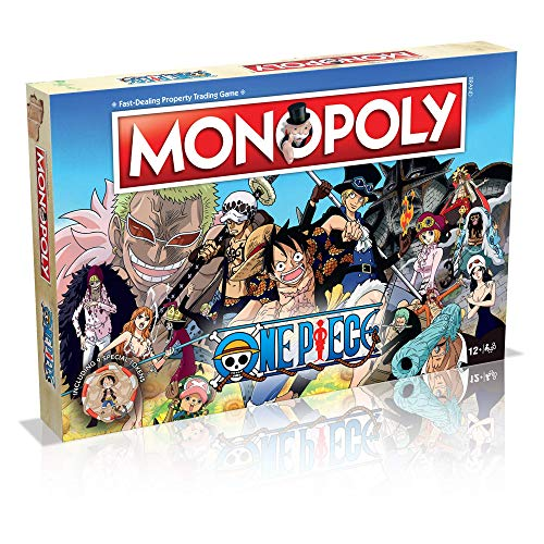 Winning Moves One Piece Monopoly Board Game