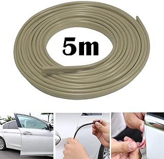 Autokantenschutzleiste 5M Autokantenverkleidung Gummidichtungsschutz U förmiger Autoklappen Türkantenschutz, passend für SUV Limousine MPV und die meisten Modelle (grau)