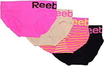 Reebok Ladies Performance Seamless Hipster - 4 Pack