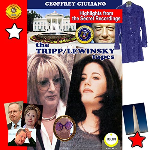 The Tripp-Lewinsky Tapes audiobook cover art