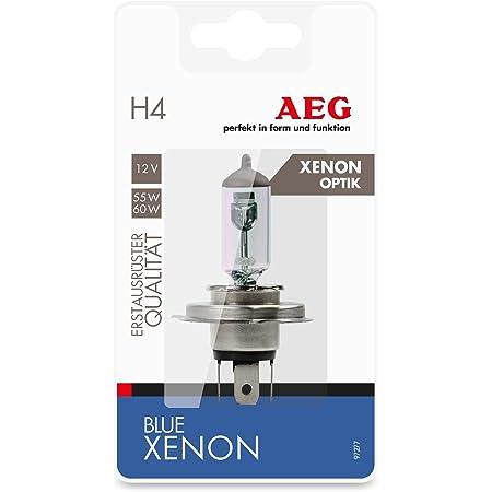 Aeg Automotive 97261 Glühlampe Blau Xenon H4 60 55 W 2 Er Set Auto