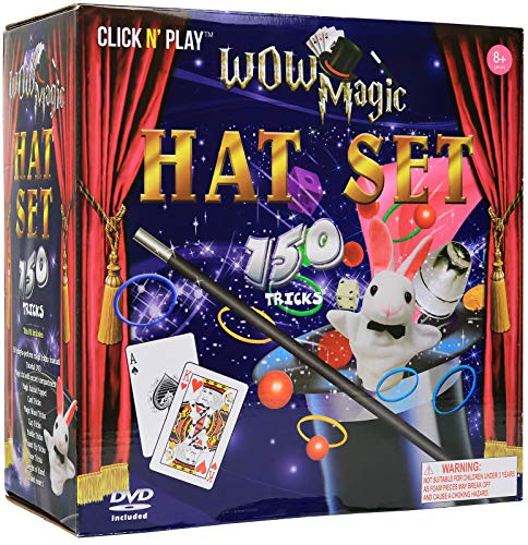 Click N' Play Magician Dress Up Magic Tricks Set for Kids...