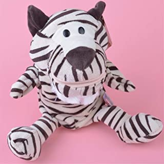 Plush toys, Wild Tiger hand puppet plush toy, Stuffed Baby/Kids Doll Toy Gift,plush toys for kids Not afraid of squeezing...