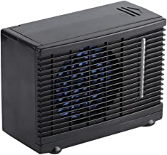 Zetiling Car Air Conditioner, Portable Mini Low Energy Consumption 12 V Two Speeds Evaporative Cooling Fan for Vehicle Use