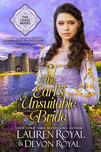 The Earl's Unsuitable Bride: A Sweet Historical Romance (The Chase Brides Book 1)