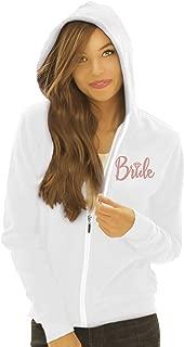 Bride, Bridal Party Zip Hoodie - Bride, Team Bride, I Do Crew Hoodie - Bachelorette Party Hoodie