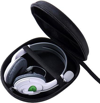 Case Estojo para Headphone Capa Bolsa Rígida - 21 x 19 x 6 Cm