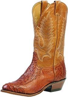 American Boots - Cowboy Exotic (Ostrich) BO-1514-72-E (Normal Walking) - Men - Brown
