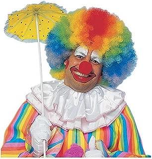 Deluxe Jumbo Rainbow Afro Wig - Adult Std.