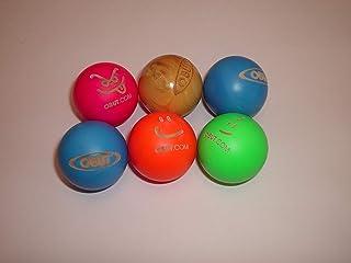 6 bolas de madera para petanca Obut aprobadas para
