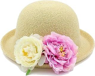 النساء الشباك وعاء قبعة زهرة قبة قبعة السفر قبعة في الهواء الطلق قبعة قبعة الرجعية قبعة القش (Color : 1)