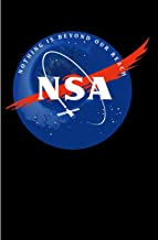 """NSA Nothing Is Beyond Our Reach: 120 Dot Grid/Bullet Pages - 6"""" x 9"""" - Planner, Journal, Notebook, Composition Book, Diary..."""
