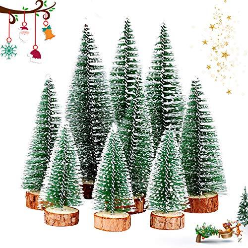 WELLXUNK® Weihnachtsbaum,Mini Weihnachts Baum,Christmasbaum Mini Grün,Weihnachtsbaum Miniatur,Künstlicher Weihnachtsbaum,Weihnachts Baum klein,Künstlich Klein Weihnachtsdeko (Grün)