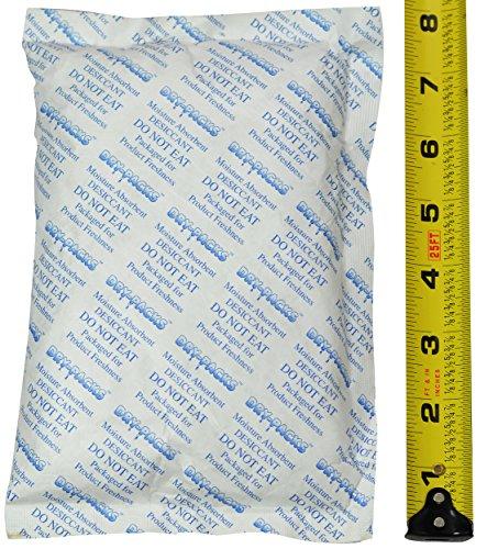 Dry-Packs 448 Gram (1LB) Silica Gel Desiccant Packet 8' x 5' Brand!