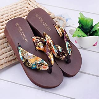 Home Beach Wedge Slippers