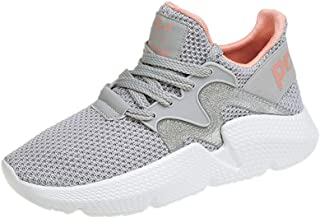 YANJK Running Shoes Mesh Breathable Fashion Trend Casual Shoes Women's Sports Shoes