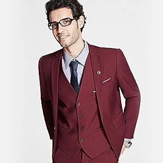 5077503cd48 GFRBJK Novio Vestido de Negocios Formal Blazer Establece un botón Trajes de  Boda Slim Fit Traje