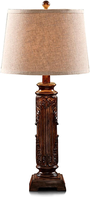GYP Tischlampe Retro Schlafzimmer Bedside Warm Light Wohnzimmer Villa ( Farbe   A ) B077RS3JDF     | Up-to-date Styling
