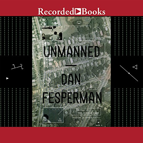 Unmanned audiobook cover art