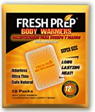 Body Hand Super Warmers Large Heating Pads with Adhesive Backing - Long Lasting Safe Natural Odorless Air Activated Warmer...