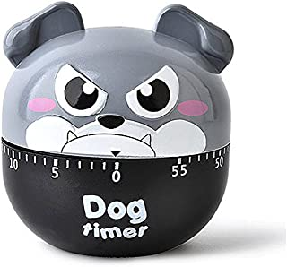 STAR-TOP Kitchen Timer Cute Cartoon Mechanical Timer Reminder Alarm Clock,calculagraph-60 Minutes,2.7inch