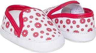Tenis de Menina Feminino Pimpolho BR Branco/Vermelho
