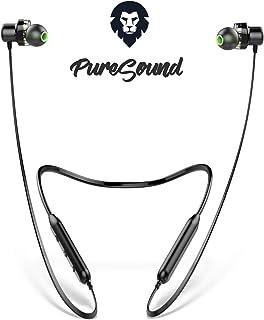 Bluetooth hörlurar sport, ENCORE Pure Sound, Dual Driver hörlurar trådlös, europeiskt märke, 9 st. Speltid, med mikrofon, ...