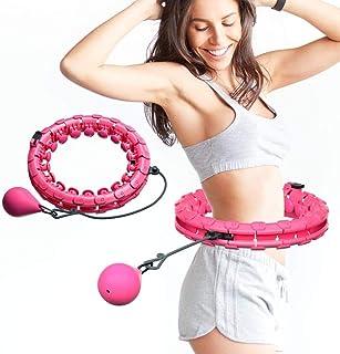 Justerbar Fitness Hula Hoop för viktminskning bantning och snabb midja motion