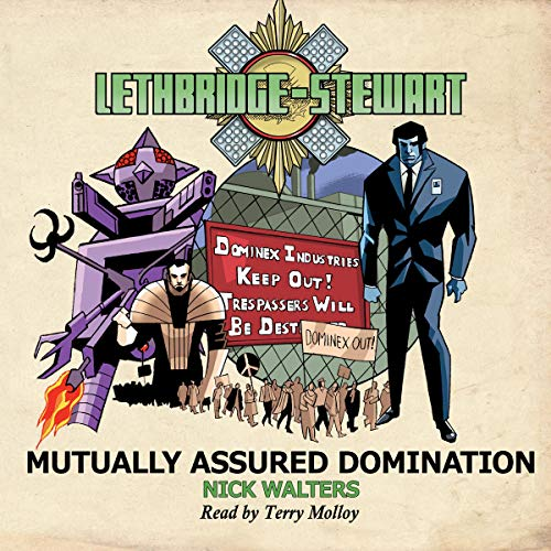 『Lethbridge-Stewart: Mutually Assured Domination』のカバーアート