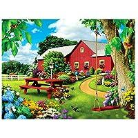 デジタル絵画DIY油絵数字キットによる絵画使用するブラシとアクリル顔料アートの家の装飾 - 庭と家