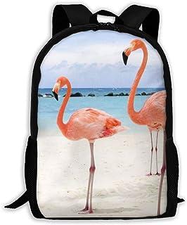 バッグ メンズ リュックサック バックパック 多機能デイパック ファッション ブラック 鞄 ビーチフラミンゴ 軽量 通気 多機能