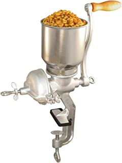 Weston Grain and Corn Mill (36-3601-W) with Ergonomic Handle and Table Clamp