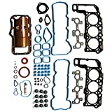 ECCPP Full Gasket Head Sets for Jeep Dodge Mitsubishi 2005-2012 3.7L Automotive Replacement Engine Full Gaskets Head Kits