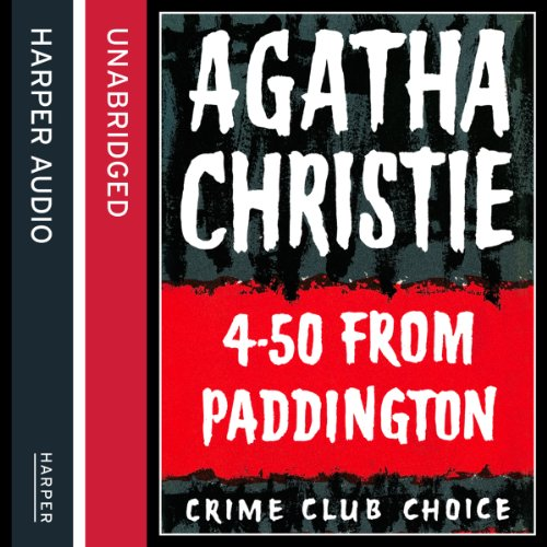 4.50 from Paddington audiobook cover art