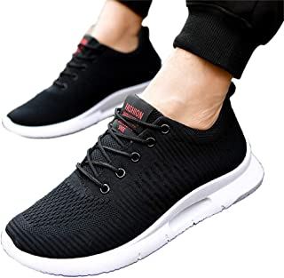 RONSHIN Men Casual Breathable Lightweight All-Match Sports Shoes