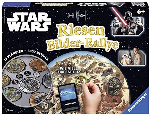Preisvergleich Produktbild Ravensburger 21241 Star Start Wars Riesen Bilder-Rallye Brettspiel