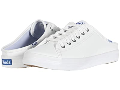 Keds Kickstart Mule Core Leather (White) Women