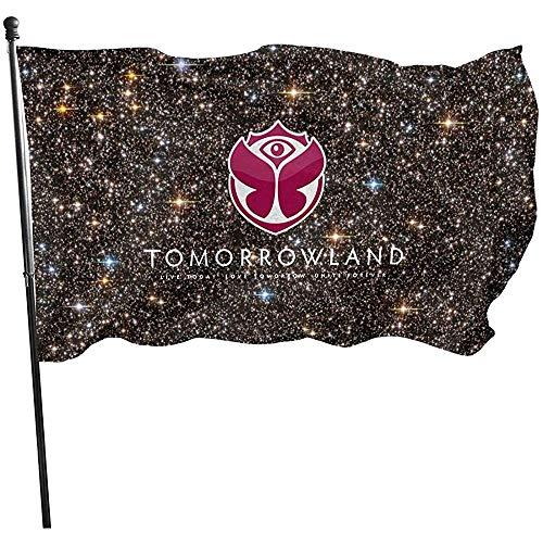 Dem Boswell Tomorrowland Garden Flag, Dekorationen für Home Decor Haus Hof Outdoor Party Supplies 3X5 Foot (150 X 90 cm